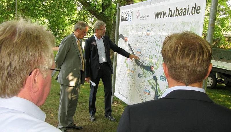 Besuch Regierungspräsident Prof. Dr. Reinhard Klenke