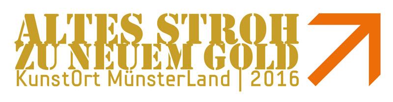 Wortmarke KunstOrt MünsterLand 2016